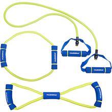 Fitness Expander Set grün/blau