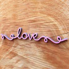 NOGALLERY love - Deko Schriftzug Holz