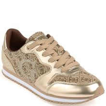 Guess Sneaker - JOHNNY 2 / ACTIVE LADY / LEAT. L1 gold