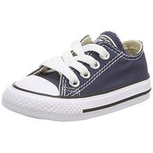 Converse Chuck Taylor All Star Core Ox 015810-21-10, Unisex - Kinder Sneaker, Blau (Marine), EU 24