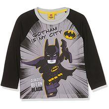 Lego Batman Jungen T-Shirt 161392, Blanc (White/Black/High Rise 16-4101TCX/Danelion 13-0758TCX), 6 Jahre (Hersteller Größe: 6 Jahre)