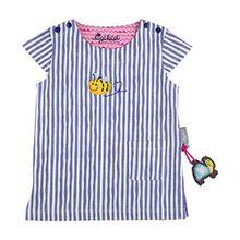 Sigikid Baby-Mädchen T-Shirt Longshirt, Violett (Lavender Violet 762), 80