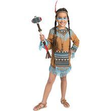 Kostüm Indianer Girl Wild Wigwam, 2-tlg.