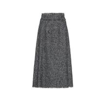 Midirock aus Tweed
