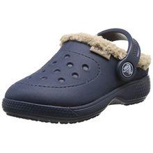 Crocs Colorlite Lined Clog Kinder Navy/Tumbleweed 23.5