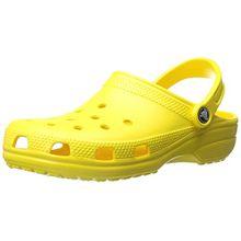 crocs Classic, Unisex - Erwachsene Clogs, Gelb (Lemon), 39/40 EU