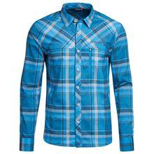Maier Sports - Merton L/S - Hemd Gr 48;52;54;58;66;68;70;72 blau