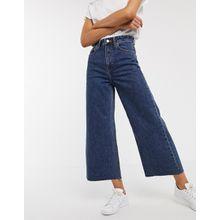 Dr Denim – Aiko – Jeans mit hoher Taille und weitem Bein-Blau