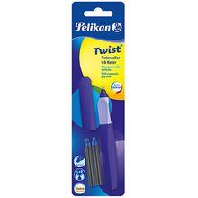 Tintenroller Twist R457 Ultra Violet, inkl 2 Rollerpatronen violett