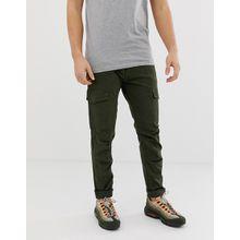 Blend – Cargohose in Khaki mit Taschen-Grün