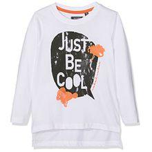 Blue Seven Jungen T-Shirt 850540 X, Weiß (Weiss 001), 110