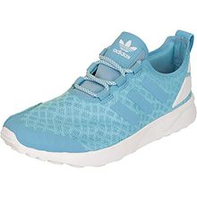 adidas Damen ZX Flux ADV Verve Sneaker, Blau (Blanch Sky/Blanch Sky/Core White), 38 2/3 EU