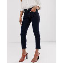 Mango - Jeans mit kurzem Schnitt - Blau