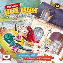 CD Der kleine Hui Buh 13 - verlorene Besen/Theater Kuscheltiere Hörbuch