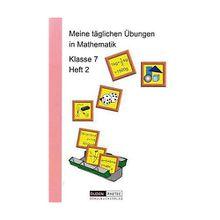 Buch - Meine täglichen Übungen in Mathematik: Klasse 7