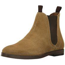 Hudson Herren Tamper Suede Chelsea Boots, Beige (Sand 605), 40 EU