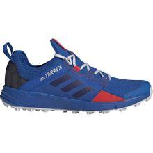 adidas Performance - Agravic Speed + Herren Trailrunningschuh (blau) - EU 44 2/3 - UK 10
