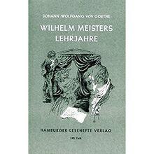 Buch - Wilhelm Meisters Lehrjahre