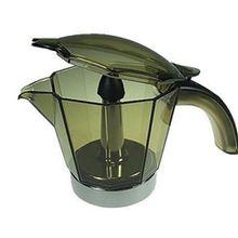 DeLonghi Alicia 6 Tassen Karaffe und Deckel Kaffeekanne Moka elektrische emk6