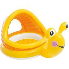 Intex Baby Planschbecken faule Schnecke orange/gelb