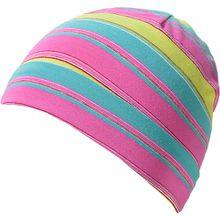 Topfmütze  grün/pink Mädchen Kleinkinder