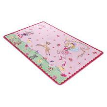 Spiegelburg Kinderteppich Prinzessin Lillifee, 100 x 160 cm, rosa