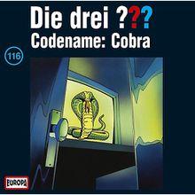 CD Die drei ??? 116 (Codename: Cobra) Hörbuch