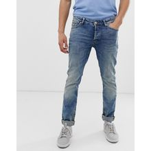 Only & Sons - Enge Jeans in Hellblau - Blau