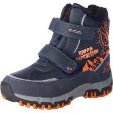 KAPPA Kinder Winterstiefel 'Denton II Tex K' blau / orange