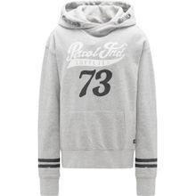 Petrol Industries Sweater grau / schwarz / weiß
