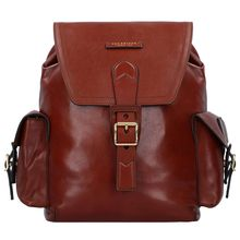 The Bridge Giannutri Rucksack Leder 38 cm braun