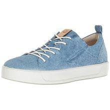 Ecco Damen Soft 8 Sneaker, Blau (Indigo 5), 37 EU