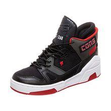 Kinder Sneakers High schwarz/rot