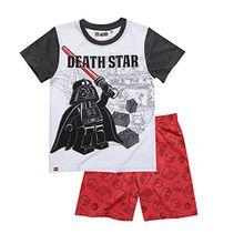 LEGO Star Wars Jungen Shorty-Pyjama - weiß - 128