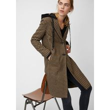 Marc O'Polo Mantel houndstooth black/brown