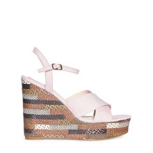 Mishumo Wedges in beige für Damen