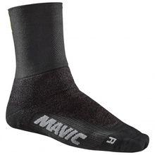 Mavic - Essential Thermo + Sock - Radsocken Gr 35-38;39-42;43-46 schwarz;blau/schwarz