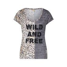 Key Largo Shirt T-Shirts schwarz Damen