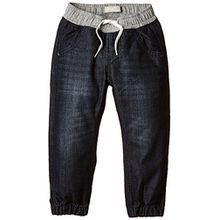 NAME IT Jungen Hose NITRUN DARK K BAG/XR DNM PANT NOOS, Gr. 92, Blau (Dark Denim)