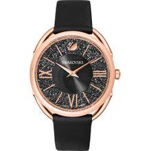 Swarovski Uhr rosegold / schwarz