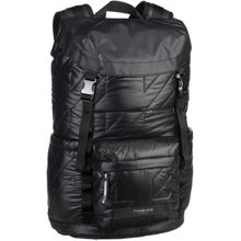 Timbuk2 Laptoprucksack Launch Pack Special Jet Black Quilted (innen: Neonorange) (18 Liter)