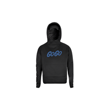 HORIZN STUDIOS Travel Hoodie - Mit ausklapbarer Schlafmaske - GoGo Electric Blue