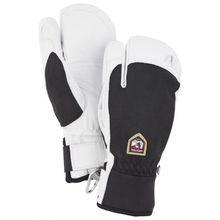 Hestra - Army Leather Patrol 3 Finger - Handschuhe Gr 11;6 schwarz/weiß/grau;grau/weiß