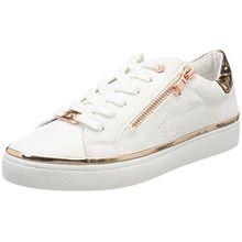 TOM TAILOR Damen 4892603 Sneaker, Weiß (White), 36 EU