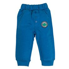 SALT AND PEPPER Baby-Jungen Jogginghose B Trousers Dino, Blau (Artic Blue Melange 447), 74