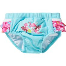 PLAYSHOES Schwimmwindel 'Flamingo' türkis / pink / weiß