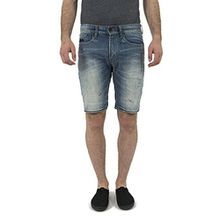 Superdry Shorts Men OFFICER SHORT Quarry Used, Hosengröße:33