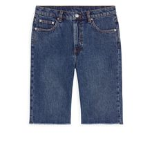 SLIM Denim Shorts - Blue