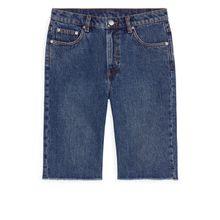 SLIM Denim Shorts - Blue