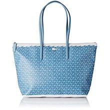 Lacoste Damen NF1720CX Umhängetaschen, Blue Croc (Blue Croc), 30 x 14 x 35 cm